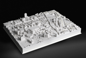 3D printed city scapes are becoming more popular as you can see the before and after changes to building design within a city before the developers commit themselves, looking at the comparison between 3D models is so much easier than old 2D drawing