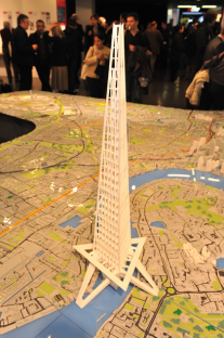 3D printing the proposed Mile High building for London