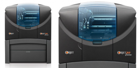 We have bought an amazing new 3D printer from Objet, the Connex 260